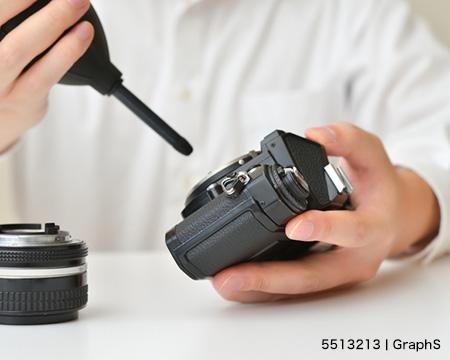カメラを掃除しよう