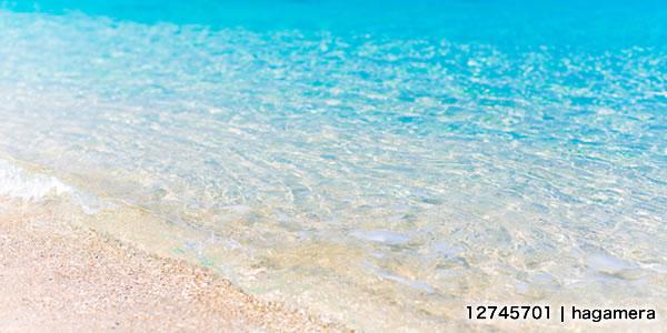 沖縄 大宜味の砂浜