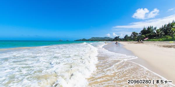 【ハワイ】オアフ島・カイルアビーチ