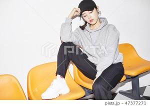 The韓国ファッション・メイク・ヘアスタイルの素材_2